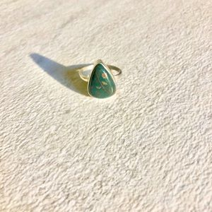 Sterling Silver 925 Ring Vintage Jasper Gemstone